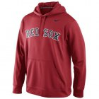 Cheap Boston Red Sox Nike Men's KO Wordmark Perfomance Red MLB Hoodie