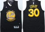 Cheap Golden State Warriors #30 Stephen Curry Revolution 30 Swingman All Black Jersey