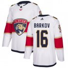 Cheap Adidas Panthers #16 Aleksander Barkov White Road Authentic Stitched Youth NHL Jersey