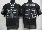 Cheap Raiders #92 Richard Seymour Lights Out Black Stitched NFL Jersey