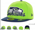 Cheap Seattle Seahawks fitted hats 13
