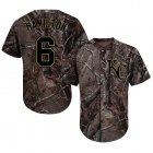 Cheap Royals #6 Billy Hamilton Camo Realtree Collection Cool Base Stitched MLB Jersey