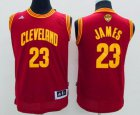 Cheap Youth Cleveland Cavaliers #23 LeBron James Red 2016 The NBA Finals Patch Jersey