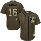 Cheap Orioles #16 Trey Mancini Green Salute to Service Stitched MLB Jersey