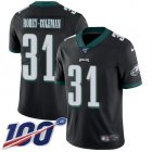 Cheap Nike Eagles #31 Nickell Robey-Coleman Black Alternate Men's Stitched NFL 100th Season Vapor Untouchable Limited Jersey