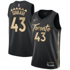 Cheap Raptors #43 Pascal Siakam Black Basketball Swingman City Edition 2019-20 Jersey