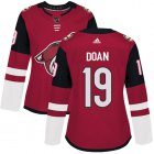 Cheap Adidas Coyotes #19 Shane Doan Maroon Home Authentic Women's Stitched NHL Jersey