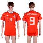 Cheap Wales #9 Robson Kanu Red Home Soccer Club Jersey