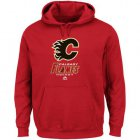 Cheap Calgary Flames Majestic Critical Victory VIII Fleece Hoodie Red