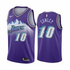 Cheap Nike Jazz #10 Mike Conley Jr. Purple 2019-20 Hardwood Classic Edition Stitched NBA Jersey