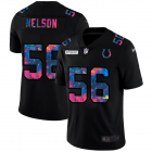 Cheap Indianapolis Colts #56 Quenton Nelson Men's Nike Multi-Color Black 2020 NFL Crucial Catch Vapor Untouchable Limited Jersey