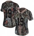 Cheap Nike Browns #19 Bernie Kosar Camo Women's Stitched NFL Limited Rush Realtree Jersey