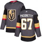 Cheap Adidas Golden Knights #67 Max Pacioretty Grey Home Authentic Stitched Youth NHL Jersey