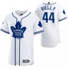 Cheap Toronto Maple Leafs #44 Morgan Rielly Men's 2020 NHL x MLB Crossover Edition Baseball Jersey White