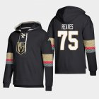 Cheap Vegas Golden Knights #75 Ryan Reaves Black adidas Lace-Up Pullover Hoodie