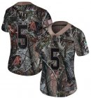 Cheap Nike Redskins #5 Tress Way Camo Women's Stitched NFL Limited Rush Realtree Jersey