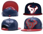 Cheap NFL Houston Texans Team Logo Navy Reflective Snapback Adjustable Hat H265