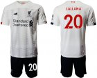 Cheap Liverpool #20 Lallana Away Soccer Club Jersey