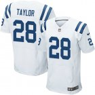 Cheap Nike Colts #28 Jonathan Taylor White Men's Stitched NFL New Elite Jersey