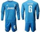 Cheap Juventus #6 Khedira Third Long Sleeves Soccer Club Jersey