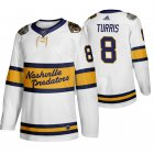 Cheap Adidas Predators #8 Kyle Turris Men's White 2020 Winter Classic Retro Authentic NHL Jersey