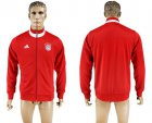 Cheap Bayern Munchen Soccer Jackets Red