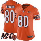 Cheap Nike Bears #80 Jimmy Graham Orange Women's Stitched NFL Limited Rush 100th Season Jersey