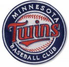 Cheap Stitched Baseball Minnesota Twins Round Logo Sleeve Patch (2010)
