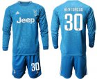 Cheap Juventus #30 Bentancur Third Long Sleeves Soccer Club Jersey