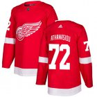 Cheap Adidas Red Wings #72 Andreas Athanasiou Red Home Authentic Stitched Youth NHL Jersey