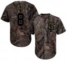 Cheap Giants #8 Hunter Pence Camo Realtree Collection Cool Base Stitched Youth MLB Jersey