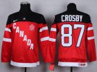 Cheap Team Canada #87 Sidney Crosby Red 100th Anniversary Stitched Youth NHL Jersey