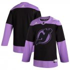 Cheap New Jersey Devils Adidas Hockey Fights Cancer Practice Jersey Black