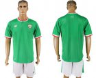 Cheap Ireland Blank Green Soccer Country Jersey