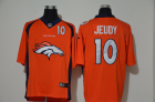 Cheap Men's Denver Broncos #10 Jerry Jeudy Orange 2020 Big Logo Number Vapor Untouchable Stitched NFL Nike Fashion Limited Jersey