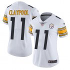 Cheap Nike Steelers #11 Chase Claypool White Women's Stitched NFL Vapor Untouchable Limited Jersey