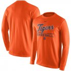 Cheap Detroit Tigers Nike Practice Long Sleeve T-Shirt Orange