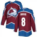 Cheap Adidas Avalanche #8 Cale Makar Burgundy Home Authentic Stitched Youth NHL Jersey