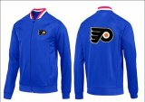 Cheap NHL Philadelphia Flyers Zip Jackets Blue-1