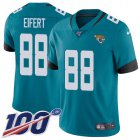 Cheap Nike Jaguars #88 Tyler Eifert Teal Green Alternate Youth Stitched NFL 100th Season Vapor Untouchable Limited Jersey