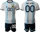 Cheap Argentina Personalized Home Soccer Country Jersey
