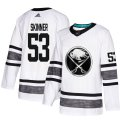 Cheap Adidas Sabres #53 Jeff Skinner White Authentic 2019 All-Star Youth Stitched NHL Jersey