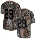 Cheap Nike Giants #29 Xavier McKinney Camo Youth Stitched NFL Limited Rush Realtree Jersey