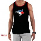Cheap Men's Nike Toronto Blue Jays Sideline Legend Authentic Logo Tank Top Black