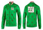 Cheap NFL New York Giants Team Logo Jacket Green