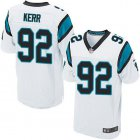 Cheap Nike Panthers #92 Zach Kerr White Men's Stitched NFL New Elite Jersey