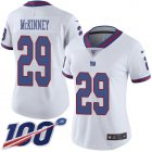 Cheap Nike Giants #29 Xavier McKinney White Women's Stitched NFL Limited Rush 100th Season Jersey