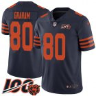 Cheap Nike Bears #80 Jimmy Graham Navy Blue Alternate Youth Stitched NFL 100th Season Vapor Untouchable Limited Jersey