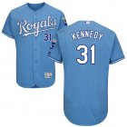 Cheap Royals #31 Ian Kennedy Light Blue Flexbase Authentic Collection Stitched MLB Jersey