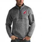 Cheap New Jersey Devils Antigua Fortune Quarter-Zip Pullover Jacket Black